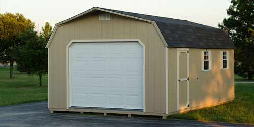 choose from 2 garages to suit your needs