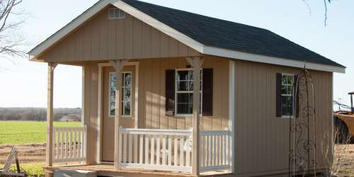 12x20 cabin storage buildings by lone star structures