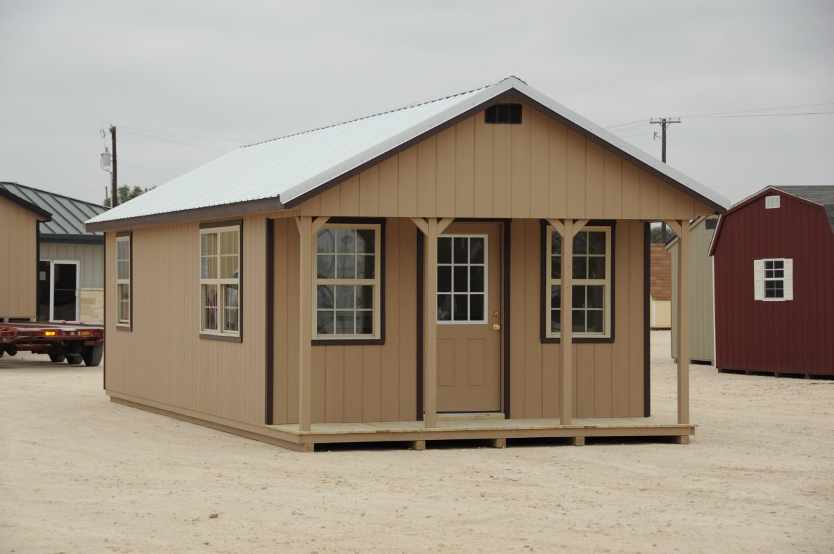 Gentil 14x32 Finished Portable Cabins For Sale In Temple Texas