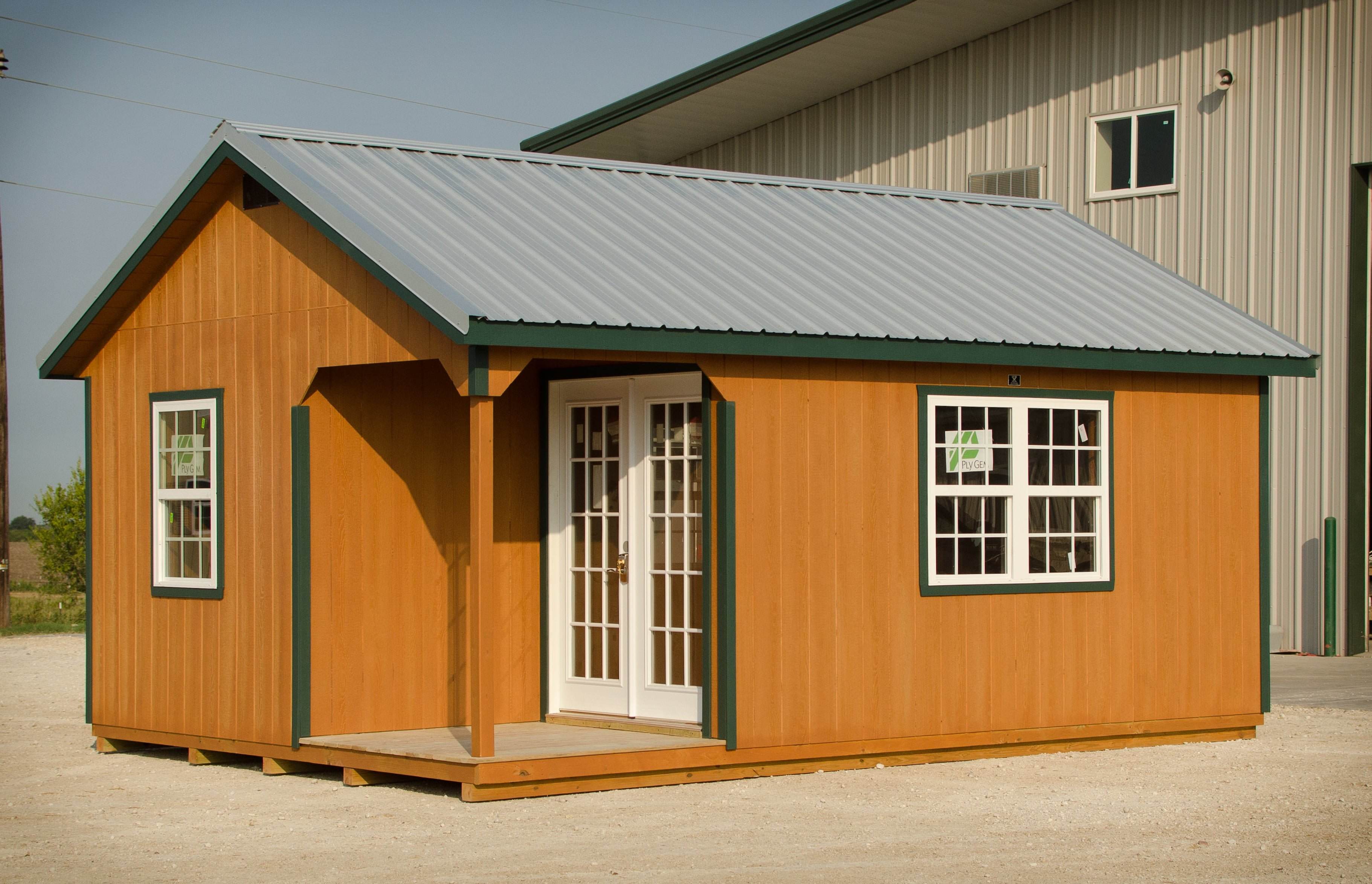 16x40 Finished Portable Buildings Oklahoma - 0425