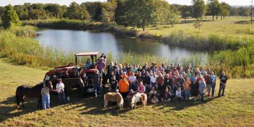 Down home ranch group photo