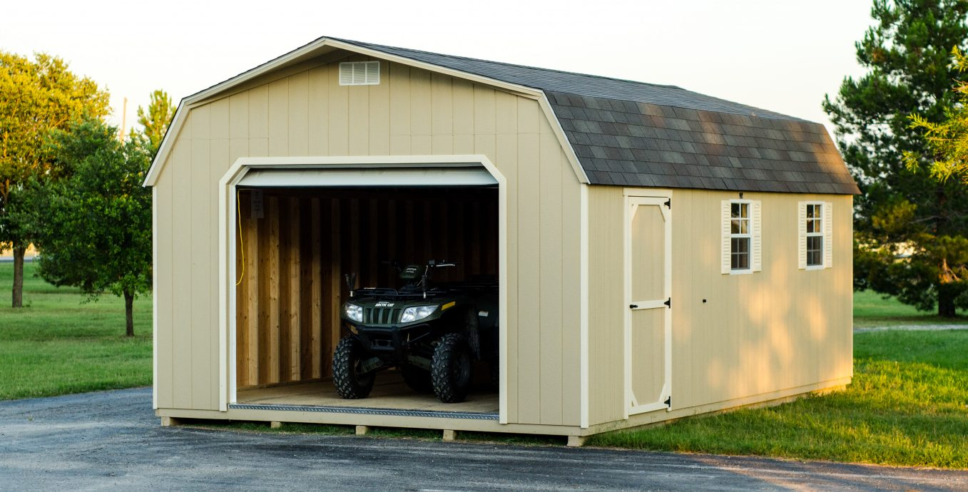 3 Advantages Of A Prefab Garage Lone Star Structures