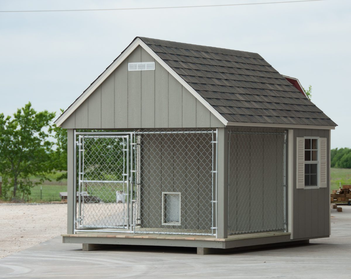 Custom Dog Kennels For In Temple Texas