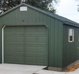 A frame prefab garage for sale near me
