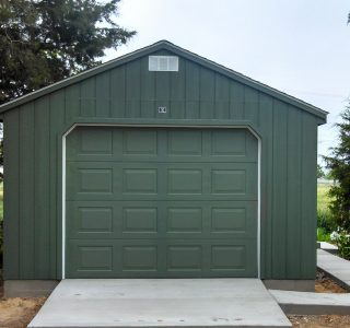 Wood prefab garages for sale