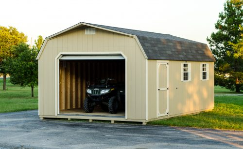 Beautiful sturdy prefab garages for sale in texas by lone star structures