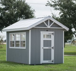8x12 classic greenhouse shed for sale