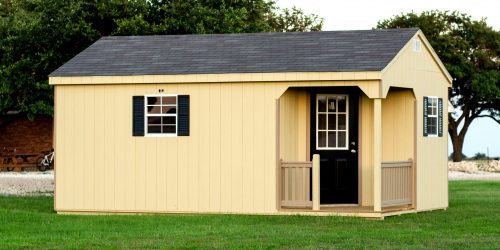 12x20 office style storage building for sale