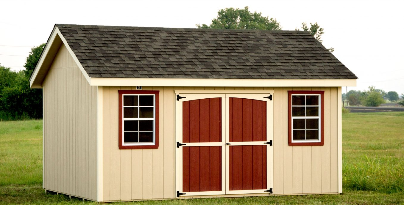 Classic storage shed for sale by lone star structures in temple texas