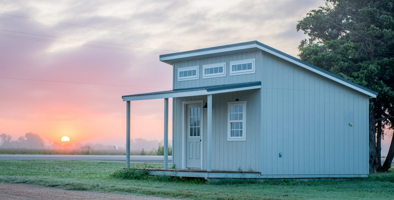 Studio cabin shed for sale in texas by lone star structures
