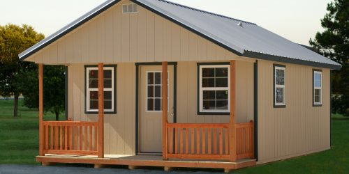 Prefab cabins from storage building for sale