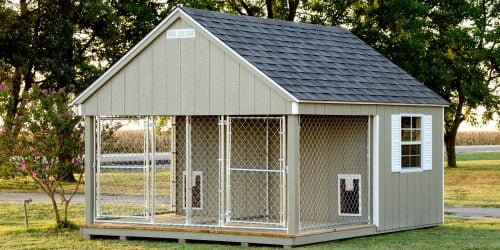 Quality Wood Dog Kennels For Sale By Lone Star Structures