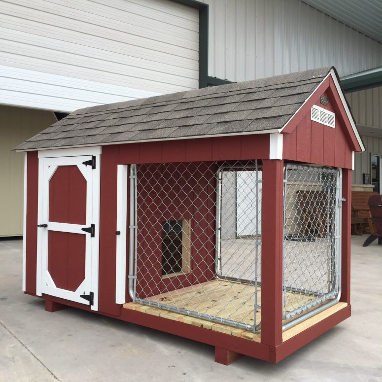 259080119 4x8 dog kennel for sale (4)