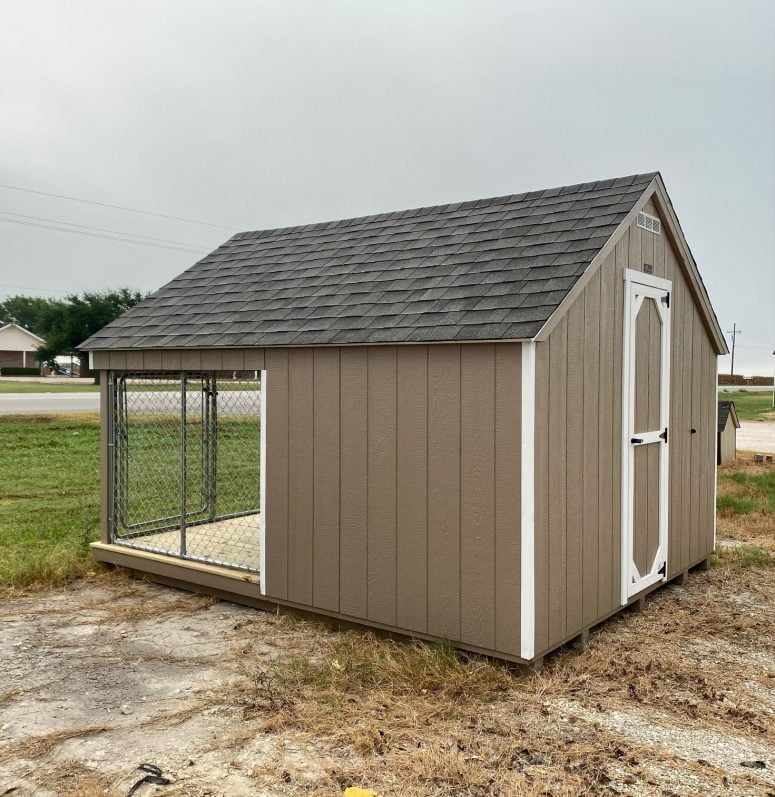 267081021 10x12 dog kennel for sale