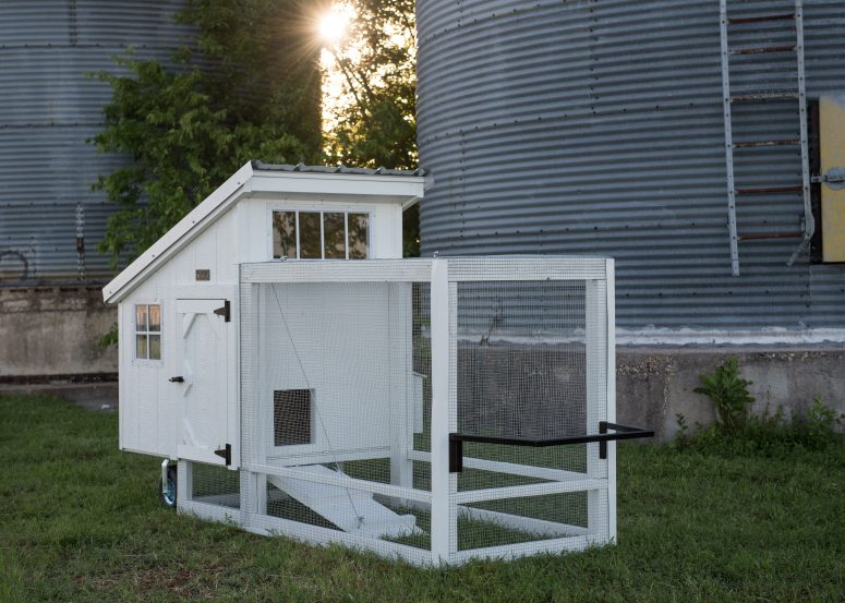 Barn white chicken tractor for sale