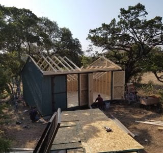 On site sheds for sale from lone star structures near lott texas