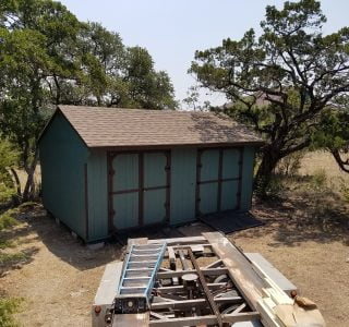 On site sheds for sale near me in temple texas from lone star structures