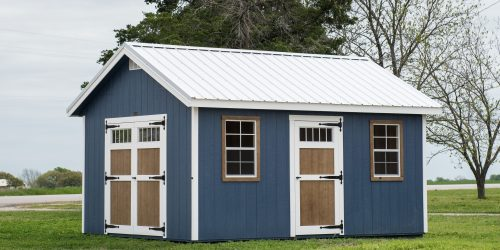 Custom Storage Buildings for Lawn and Garden [Made in Texas!]
