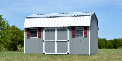 Custom Storage Buildings For Lawn And Garden Made In Texas