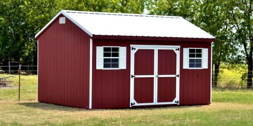 12x16 workshop storage building for sale