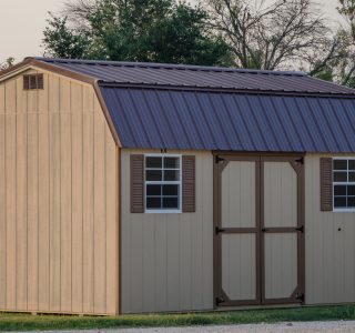 Dutch barns outdoor sheds for sale in texas by lone star structures