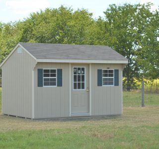 10x12 quaker garden shed in lott texas