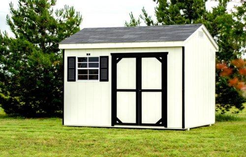 8x10 workshop custom shed for sale