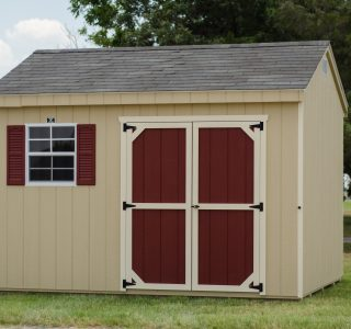 10x12 custom workshop shed
