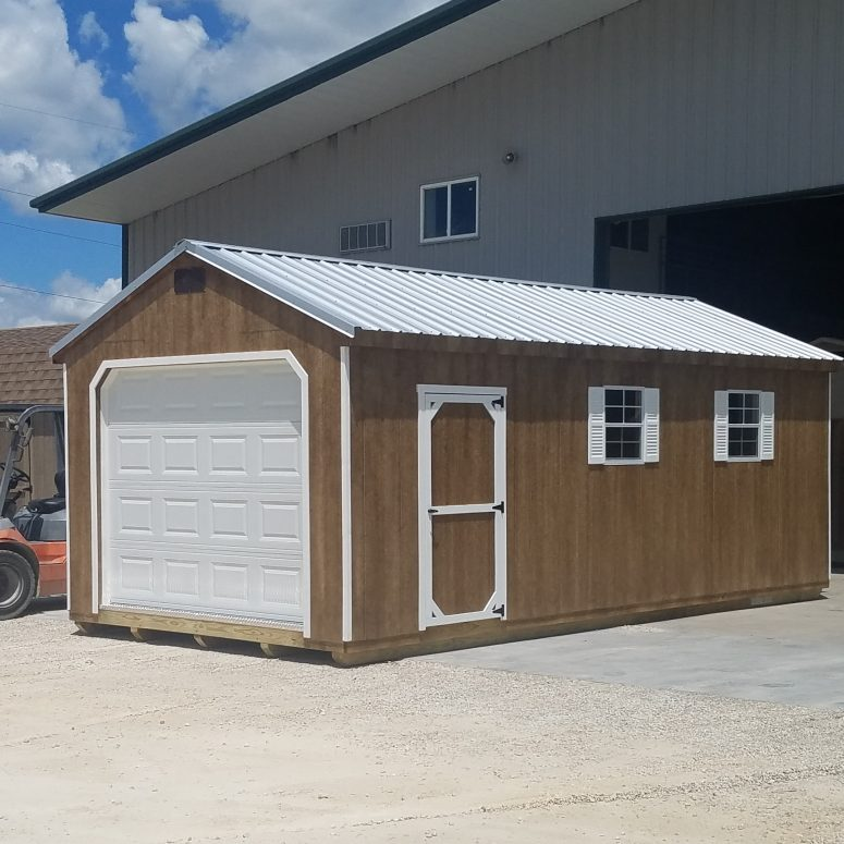 12x24 Workshop Garage