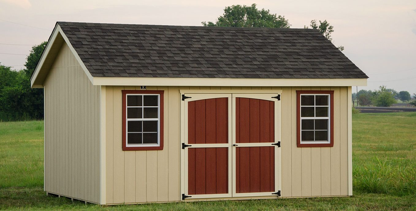 Classic storage sheds by lone star structures in temple texas