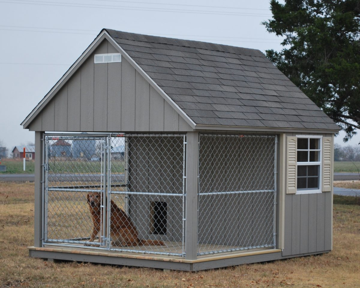 Outdoor Dog Kennel Pictures