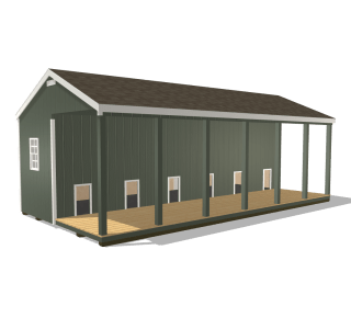 Customize prefab commercial dog kennel in texas