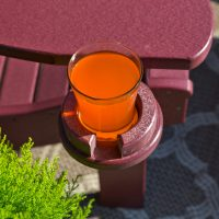Deck furniture cupholders cherrywood cupholder 2