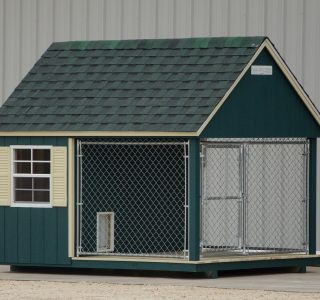 Dog kennels for sale by lone star structures in lott texas