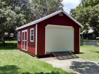 14x28 classic prefab garage for sale