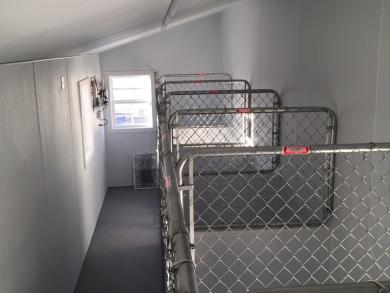 Large commercial outdoor dog kennel for sale temple texas