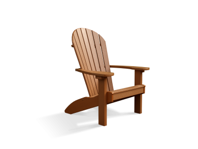 Lawn furniture adirondack chairs cedar 2