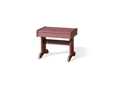 Outdoor furniture end table cherrywood end table 1 2