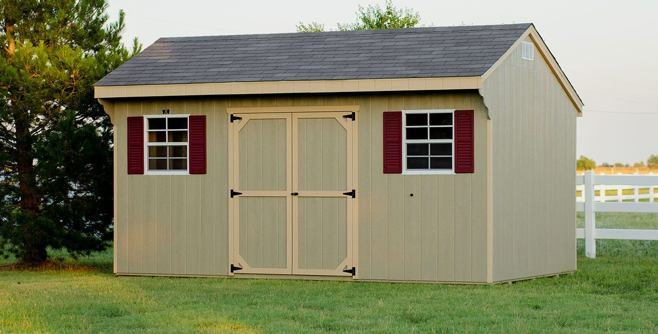 High quality storage sheds from lone star structures
