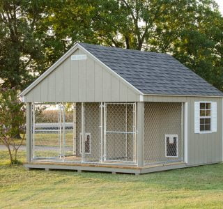 Large outdoor dog kennel near temple texas 2