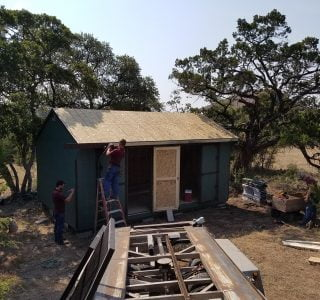 On site sheds for sale in texas from lone star structures
