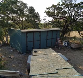 On site sheds near temple texas