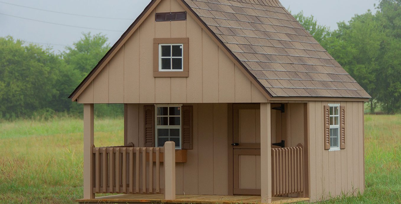 Playhouse sold by lone star structures in near waco texas