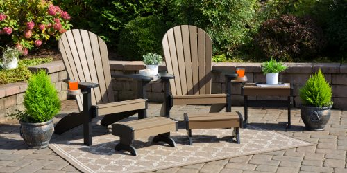 Poly patio furniture adirondack chairs