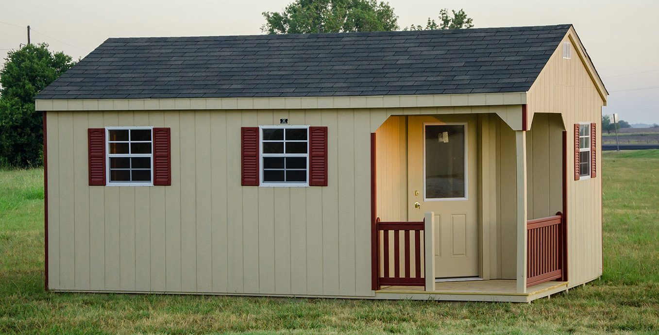 Portable Office And Storage Sheds Built By Lone Star Structures