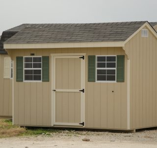 Quaker wood garden sheds built by lone star structures