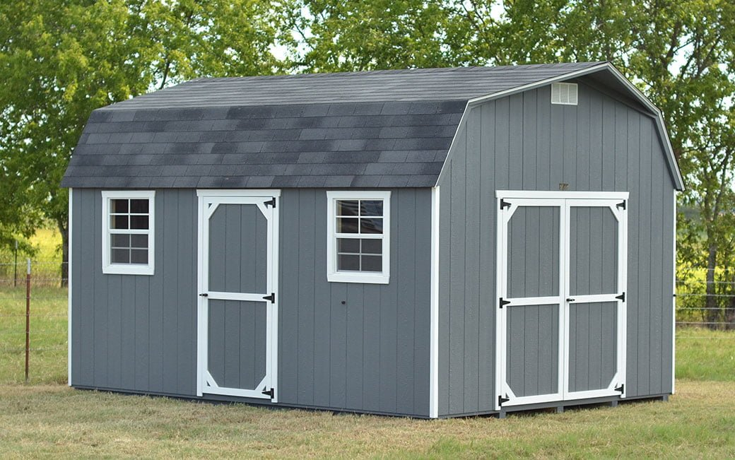 Quality features of storage sheds in texas for sale