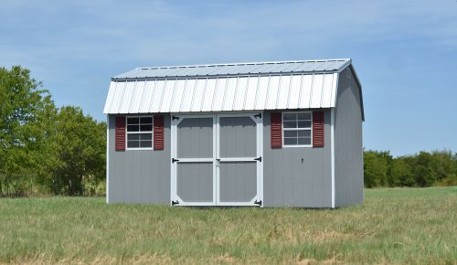 Rent to own storage sheds for sale 12x16 dutch barn storage shed with metal roof