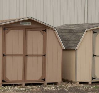 Small sheds built by lone star structures